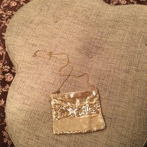 La Regale Gold Evening Bag